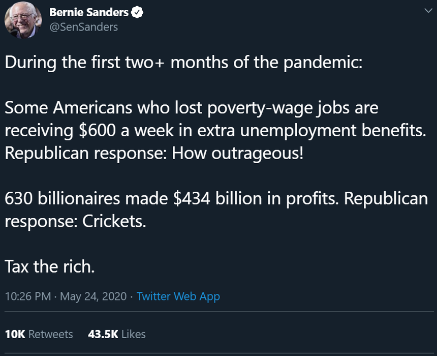 Why Support Anyone But Bernie